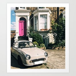 Camberwell Car Art Print