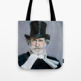 Giuseppe Verdi (1813 – 1901) by Giovanni Boldini (1842 - 1931)(2) Tote Bag