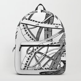 Armillary sphere Backpack
