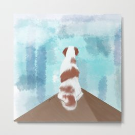 Deschutes The Brittany Spaniel Metal Print