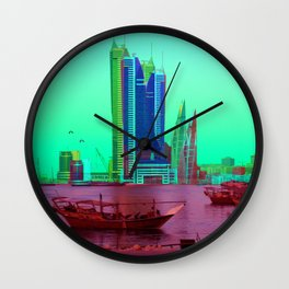 BFH, bahrain Wall Clock