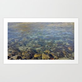 Clean Water Art Print