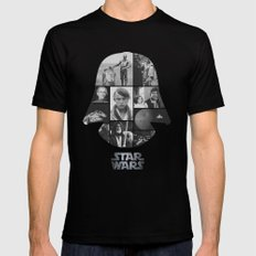 A New Hope COLLAGE variation MEDIUM Black Mens Fitted Tee