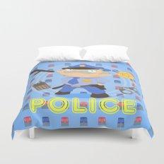 Police Duvet Cover