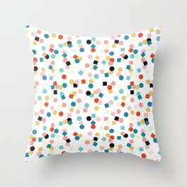 Confetti Pattern Throw Pillow