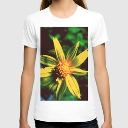 Vintage Yellow Flower T-shirt