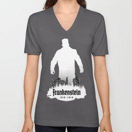 Frankenstein 1818-2018 - 200th Anniversary INV Unisex V-Neck