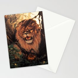 Season of the Big Cat - Mad Dogs and Lions Stationery Cards
