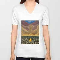 justice V-neck T-shirts featuring Justice Game by gunberk