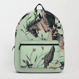Horses and birds Backpack