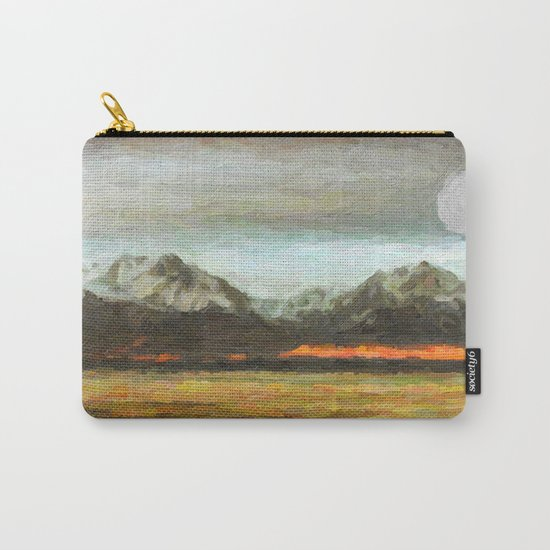 Abstract Andean Landscape Carry-All Pouch