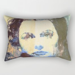 Divas - Hedy Lamarr  Rectangular Pillow