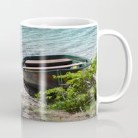boat Mugs featuring Boat by L'Ale shop