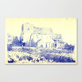 St Andrew Church Steyning England Canvas Print