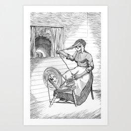 Witch Woman Art Print