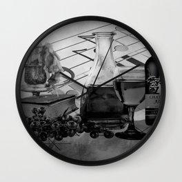 A Good Evening Wall Clock