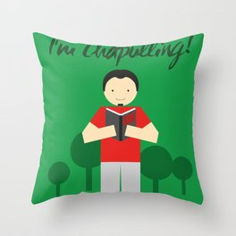 Chapulling Throw Pillow
