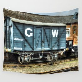 GWR Mink A Van Wall Tapestry