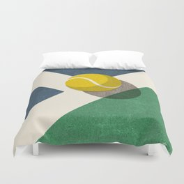BALLS / Tennis (Hard Court) Duvet Cover