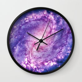 Cosmic vacuum cleaner (Spiral Galaxy M83) Wall Clock