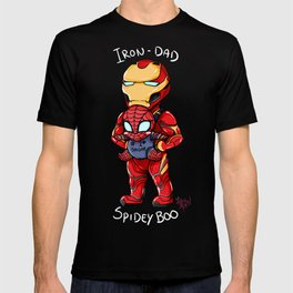 Iron-Dad and SpideyBoo T-shirt