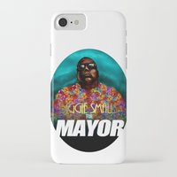 biggie smalls iPhone & iPod Cases featuring Biggie Smalls for Mayor by Tom Brodie-Browne