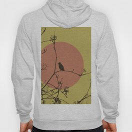 Bird on a branch Hoody