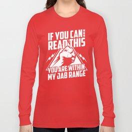Fear the Jab Long Sleeve T-shirt