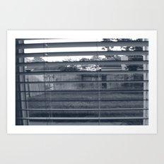 Black & White Background Art Print