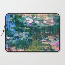 water lilies : Monet Laptop Sleeve