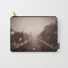 untitled (snowstorm) Carry-All Pouch