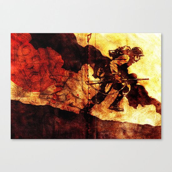 WHF Goes To War Canvas Print
