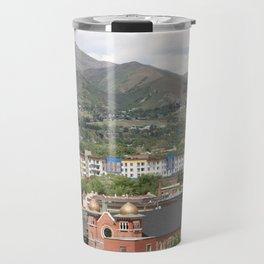 Salt Lake Skyline Travel Mug