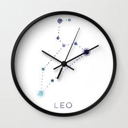 LEO STAR CONSTELLATION ZODIAC SIGN Wall Clock