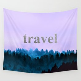 Travel - Forest Wanderlust Wall Tapestry