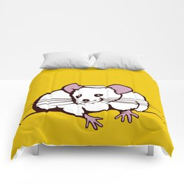 Fat mouse Comforters