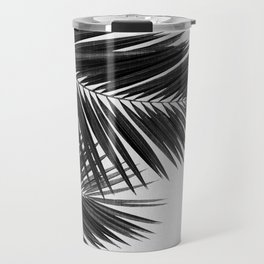 Palm Leaf Black & White II Travel Mug