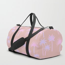 Palm Trees - Neutral & Pastel Duffle Bag