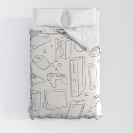 Computer Gaming Video Game Pattern Comforters