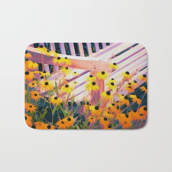 Planting Dreams and Watching Them Bloom Bath Mat