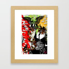 Anxious Dragons Framed Art Print