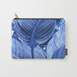 Alien plant life blue Carry-All Pouch