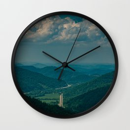 Pine View Wall Clock