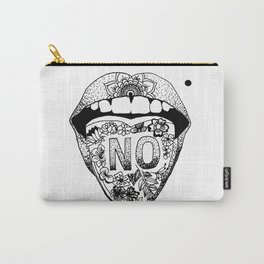 SAY NO Carry-All Pouch