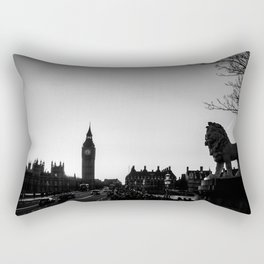 Cityscape of London - Silhouets in this famous city - Travelphotography Rectangular Pillow