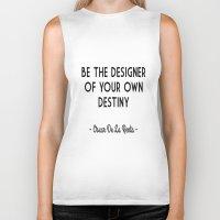 destiny Biker Tanks featuring Destiny by I Love Decor