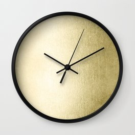 Simply Gilded Palace Gold Wall Clock