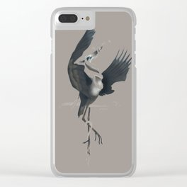 Anxiety (Invisible Variant) Clear iPhone Case