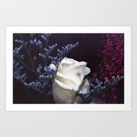 Film and Flowers Art Print