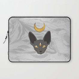 Three cat eyes grey skies Laptop Sleeve